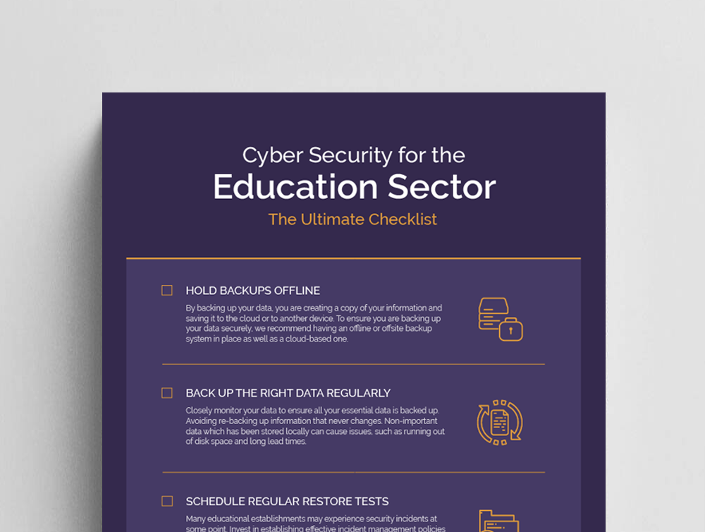 , Download our Cyber Security Checklist